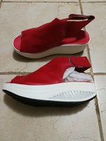Used Ladies comfy red shoes size 35 in Dubai, UAE