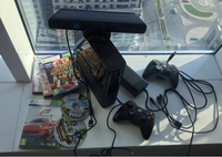 Used XBox 360 500GB Kinect ,cam all access  in Dubai, UAE