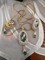 Used New Pendent set with chain 50 aed in Dubai, UAE