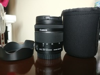 Used Canon Lens 18-55mm IS STM in Dubai, UAE