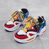 Used New colorful star running shoes size 43 in Dubai, UAE