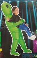 Used Green Alien Costume in Dubai, UAE