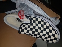 Used Vans Checkerboard slip-ons S;41Eu/8.5US in Dubai, UAE