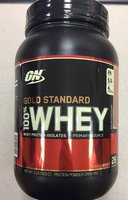 Used ON Gold standard whey protein in Dubai, UAE