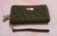 Used authentic DKNY long wallet in Dubai, UAE