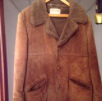 Used Oakland Pure Leather Jacket with Wool in Dubai, UAE