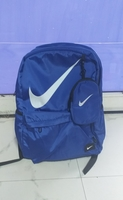 Used Nike backpack blue color new in Dubai, UAE