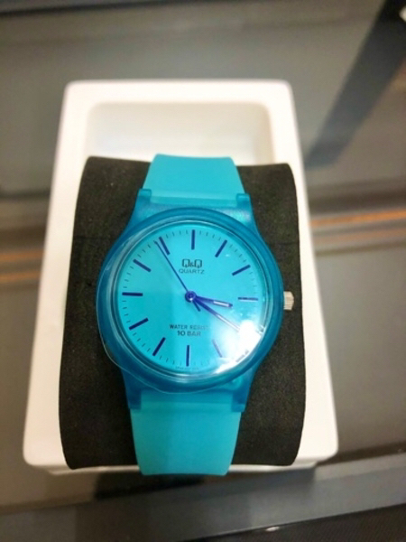 Used Q&Qwatch blue in Dubai, UAE