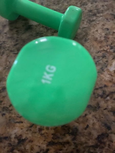 Used Weights 1 kg. New and unused in Dubai, UAE