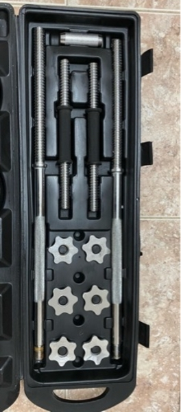 Used Dumbbell & Barbell Weight Set in Dubai, UAE