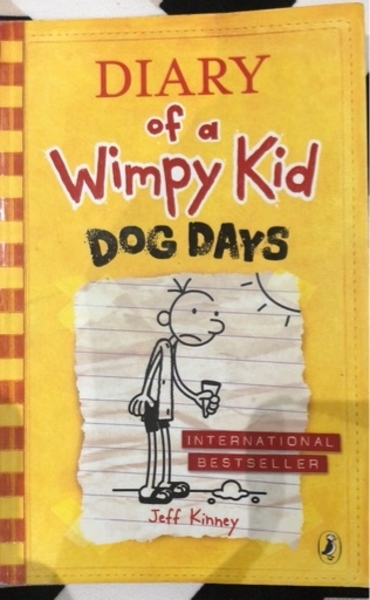 Used Diary Of A Wimpy Kid Dog Days book in Dubai, UAE