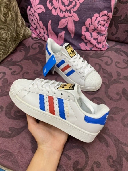 Used Superstar red blue adidas in Dubai, UAE