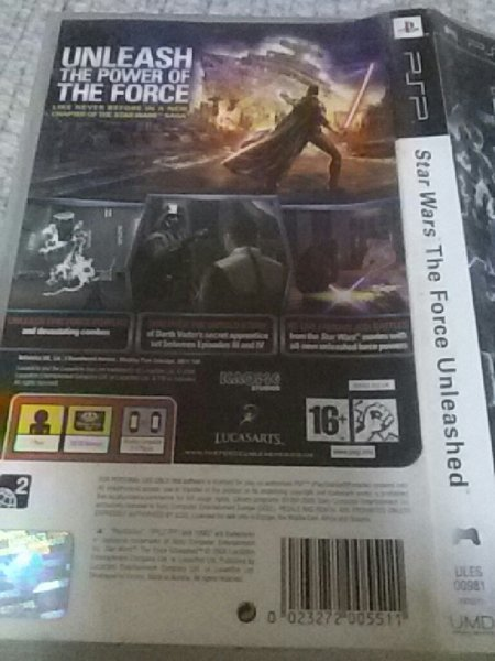 Used PSP 3game bundle STAR WARS and 2 other in Dubai, UAE