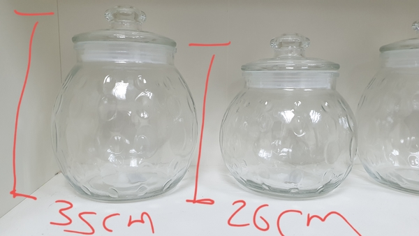 Used 6 big glass jars💥💥SALE💥💥 in Dubai, UAE