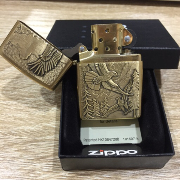 Used Zippo Eagle Lighters in Dubai, UAE