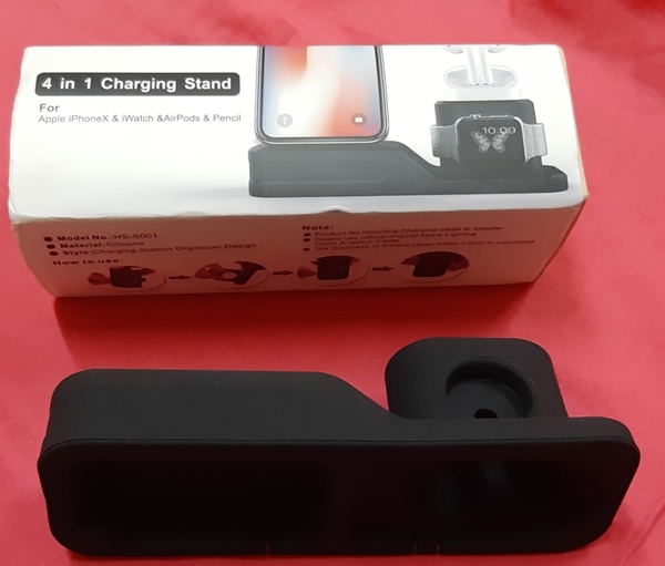 Used 4 in 1 charging stand for Apple iPhoneX in Dubai, UAE
