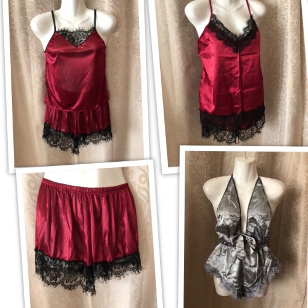 Used Nighties 3 pcs size M read ‼️ in Dubai, UAE