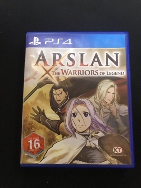 Used PS4 game Arslan the warriors of legends in Dubai, UAE
