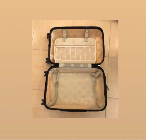Used Small shell travel bag in Dubai, UAE