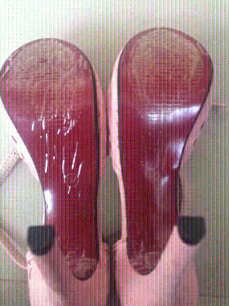 Used new lace and suede heels, 37/38 in Dubai, UAE