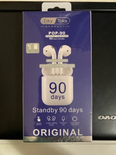 Used Pop 90 wireless airpods with high bass in Dubai, UAE