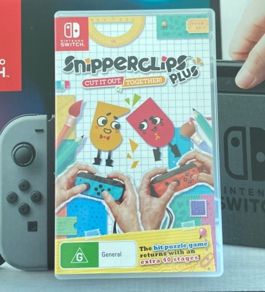 Used Snipperclips Plus (Nintendo Switch) in Dubai, UAE