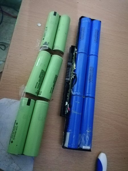 Used Rechargeable batteries from laptop in Dubai, UAE