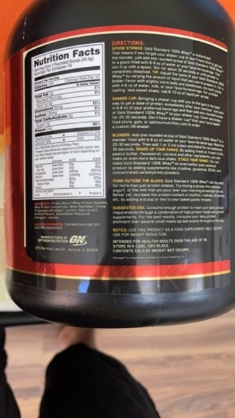 Used ON GOLD STANDARD 100 %WHEY PROTEIN in Dubai, UAE