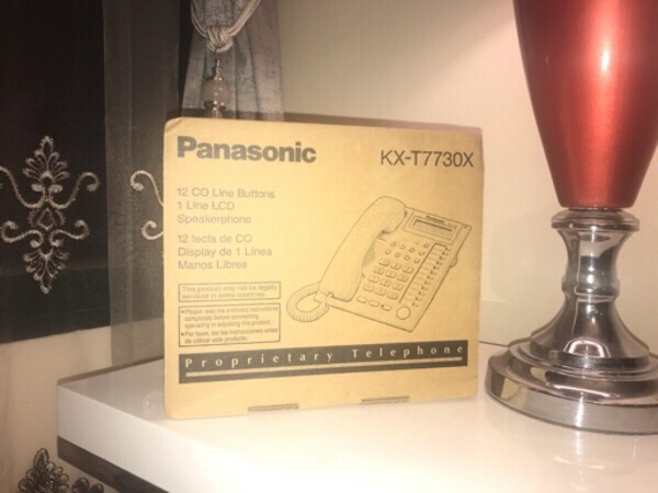 Used telephone panasonic in Dubai, UAE