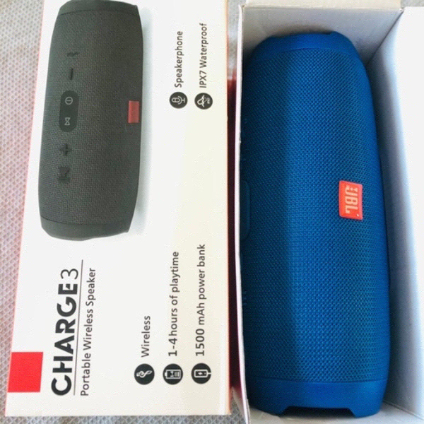 Used Charge 3 Wireless Speaker Blue in Dubai, UAE