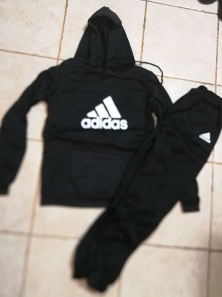 Used New winter adidas training suit for boys in Dubai, UAE