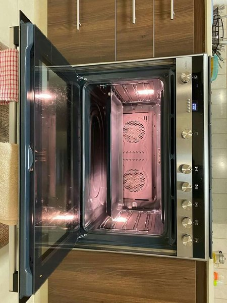 Used Siemens top gas electric oven latest mod in Dubai, UAE