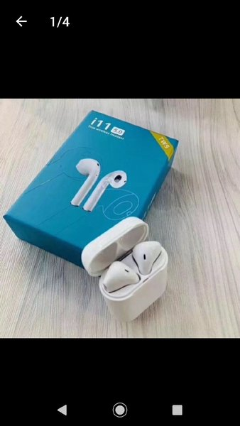 Used I11  Bluetooth EARPODS Offer one 1⃣ in Dubai, UAE