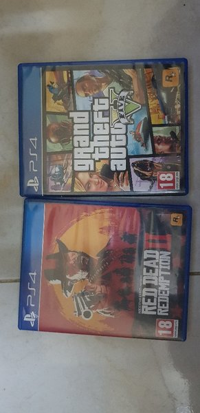 Used GtaV and Red Dead Redemption 2 in Dubai, UAE
