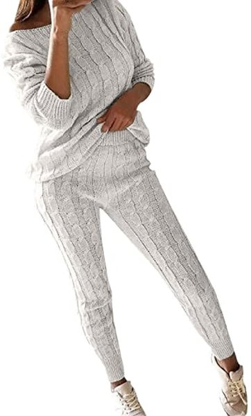 Used New knitted wool track suit size S in Dubai, UAE