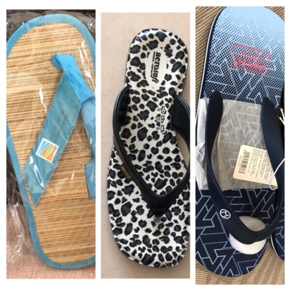 Used flip flops 3 pair in Dubai, UAE