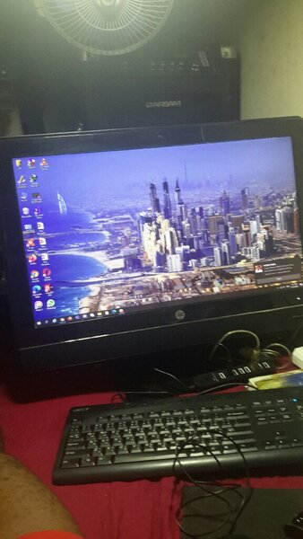Used Hp AIO ( all in one ) in Dubai, UAE
