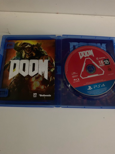 Used Doom PS4 in Dubai, UAE
