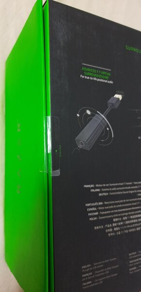 Used New:Razer manOwar7.1 gaming headset:orgn in Dubai, UAE