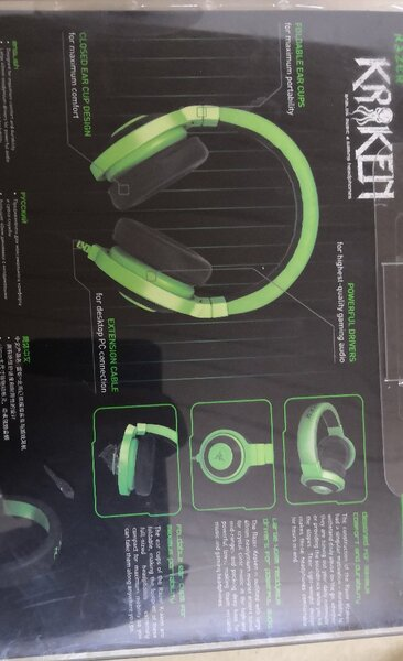 Used Original Razer Kraken wired headset in Dubai, UAE