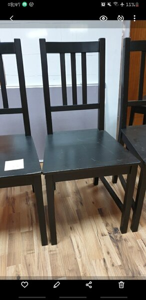 Used Ikea 6 chairs & desk 💣💣💣 in Dubai, UAE