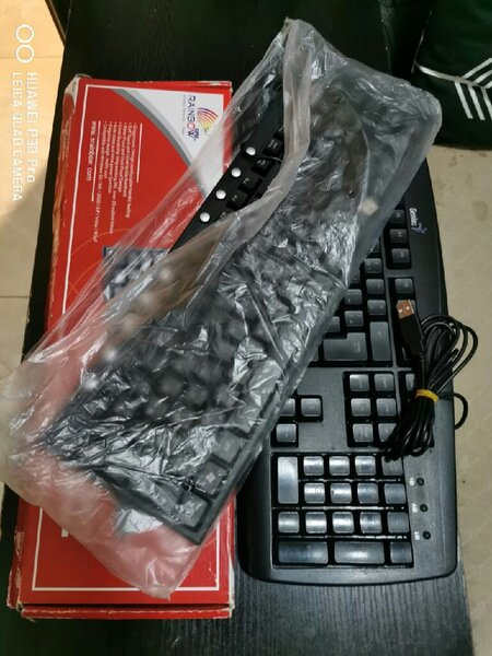 Used 2 Pcs Working Keyboard Genius & Rainbow in Dubai, UAE