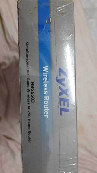Used NEW: Zyxel wireless router NBG6503 in Dubai, UAE