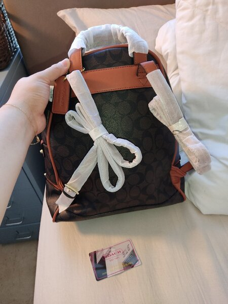 Used Coach leather backpack with authenticity in Dubai, UAE