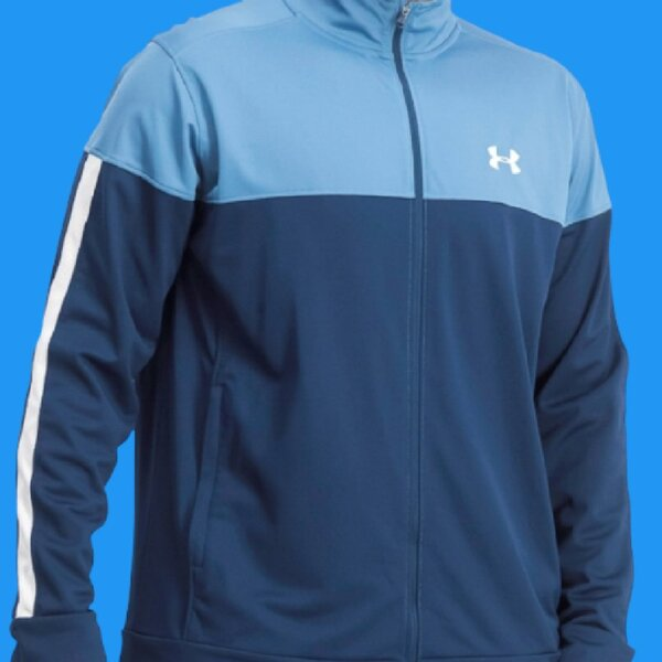 Used men's UNDER ARMOUR jacket New blue navy in Dubai, UAE