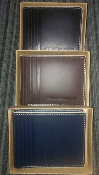 Used Pure Leather Wallet in Dubai, UAE