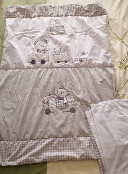 Used Baby bed cover and sheet in Dubai, UAE