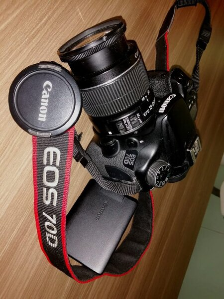 Used Canon EOS 70D DSLR Camera in Dubai, UAE