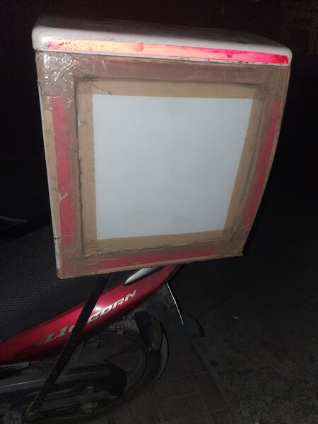 Used Bike box for sale with stand in Dubai, UAE