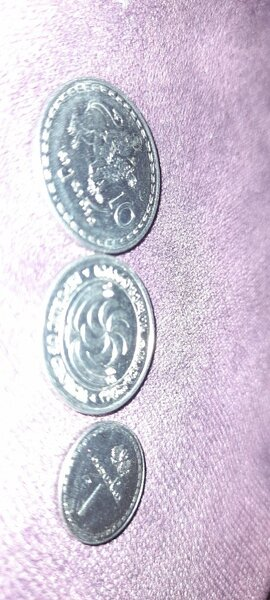 Used 8 different countries coins collection in Dubai, UAE
